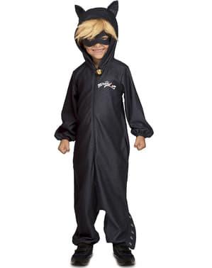 Černý kocour kombinéza kostým pro děti