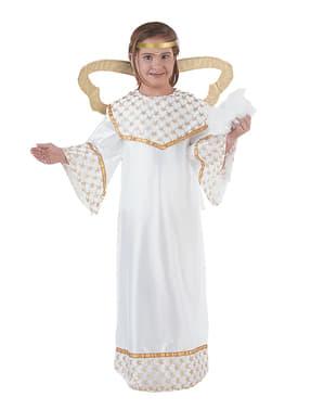 Costume da Angelo dorato bambina