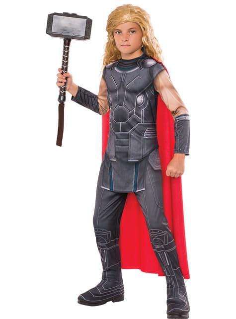Disfraz de Thor Ragnarok classic para niño