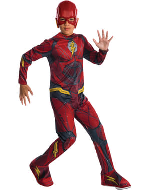 Justice League Flash Costume for boys