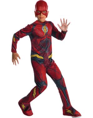 Flash Justice League Kostüm für Jungen