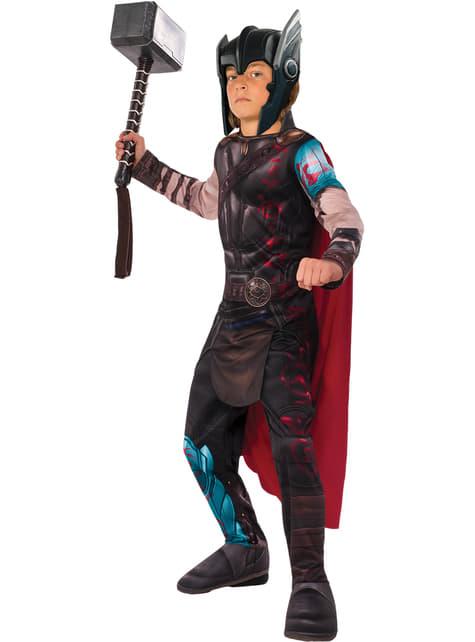 Disfraz de Thor gladiador Ragnarok classic para niño