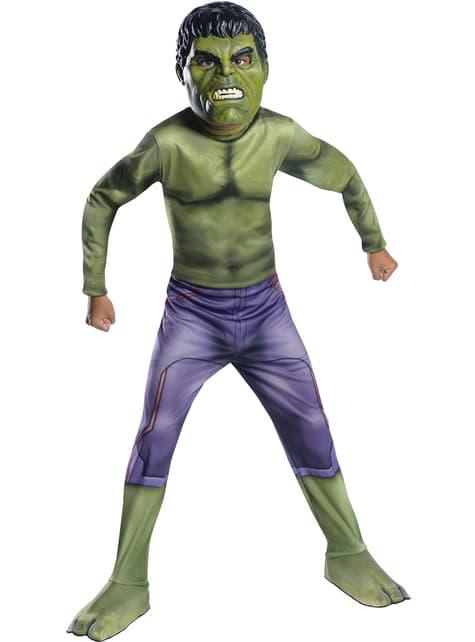 Costum Hulk Ragnarok classic pentru băiat