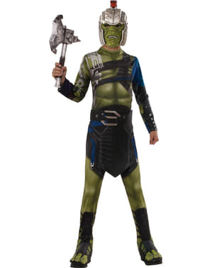 Klassiek Hulk War Ragnarok kostuum voor jongens