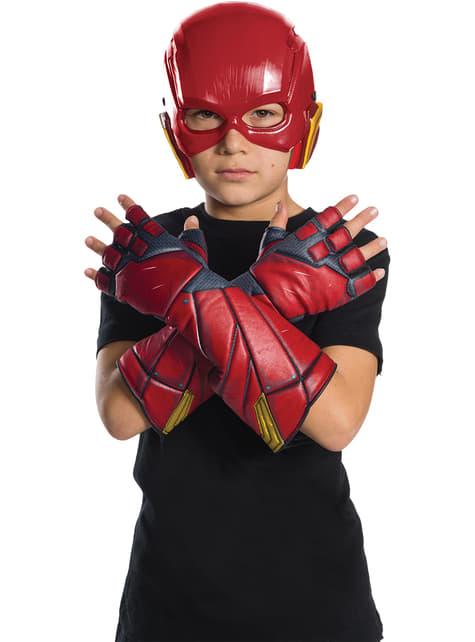 Guantes de Flash La Liga de la Justicia para niño