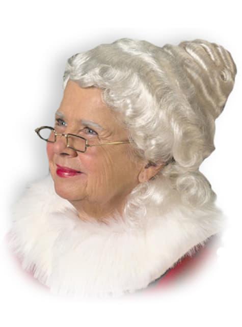 Peluca abuela deluxe