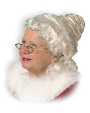 Deluxe grandma wig