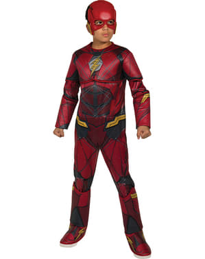 Justice League Premium Flash Costume for boys