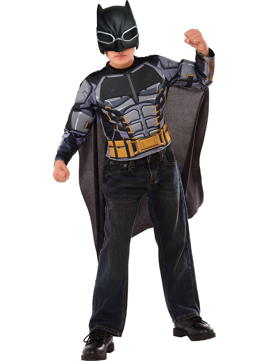 costume batman armure justice league enfant funidelia. Black Bedroom Furniture Sets. Home Design Ideas