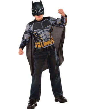 The justice league muskuløs Batmand kostume til drenge
