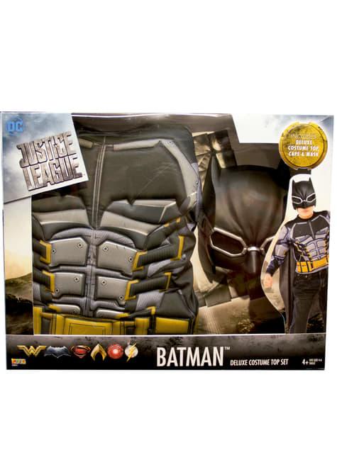 Disfraz de Batman armadura La Liga de la Justicia para niño - infantil