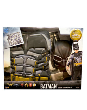 The Justice League Muscular Batman costume for boys