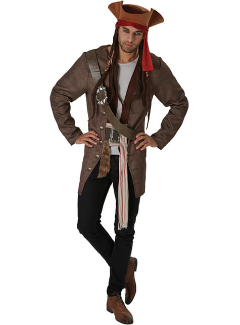 Prestige Dead Men Tell No Tales Jack Sparrow costume for men