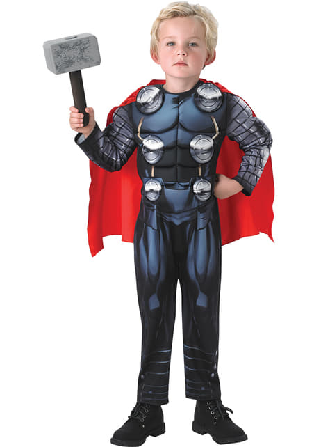 Disfraz de Thor Los Vengadores deluxe para niño