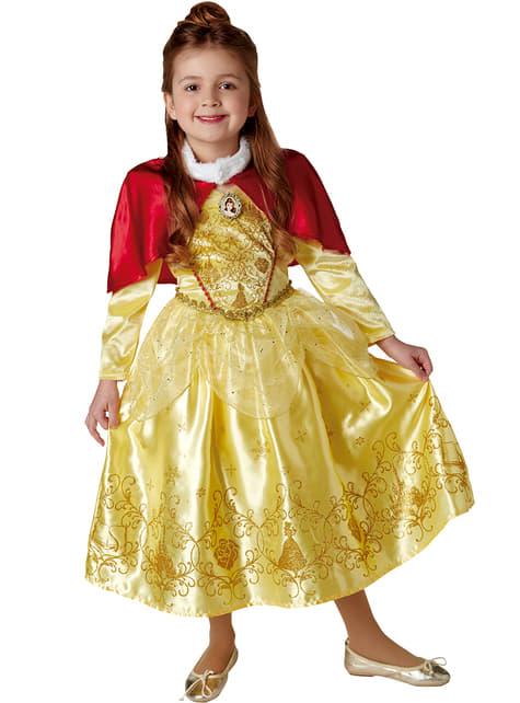 Bella Winter Die Schöne und das Biest Kostüm für Mädchen
