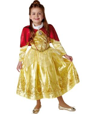 Vinter Belle kostume Skønheden og Udyret til piger
