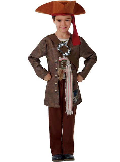 Disfraz de Jack Sparrow La Venganza de Salazar para niño