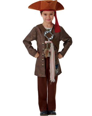 Dead Men Tell No Tales Jack Sparrow costume for boys