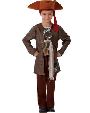 Salazar's Hævn Jack Sparrow kostume til drenge