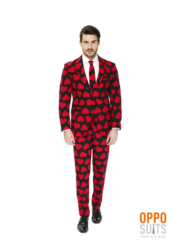 anzug king of hearts opposuit f r m nner funidelia. Black Bedroom Furniture Sets. Home Design Ideas