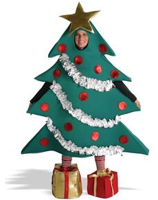 Disfraz de Árbol de Navidad con regalos