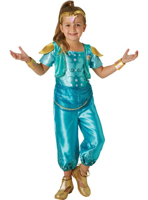 Costume da Shine Shimmer and Shine per bambina