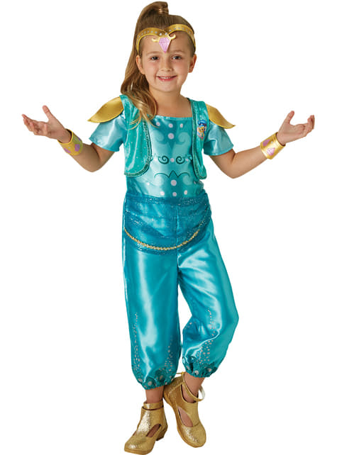 Kostium Shine Shimmer and Shine dla dziewczynki