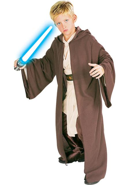 Túnica Jedi Star Wars deluxe infantil