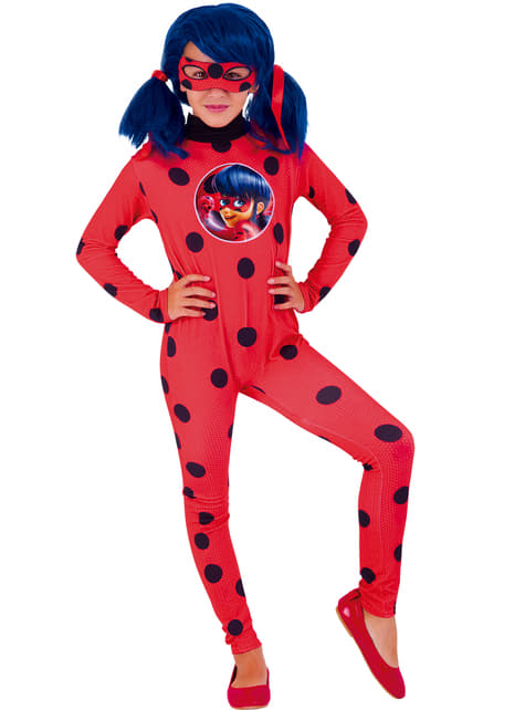 Fato de carnaval Ladybug para menina