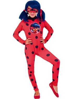Costum Miraculous Buburuza Miraculoasa Ladybug pentru fată