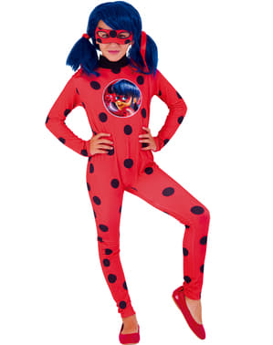 Костюмът на калинка от Tales of Ladybug за момичета