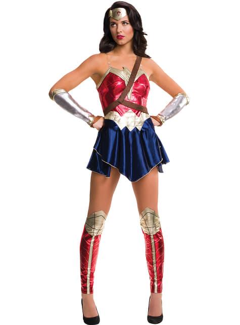 Fato de Wonder Woman A Liga da Justiça para mulher