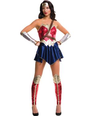 Wonder Woman Justice League kostuum voor vrouw