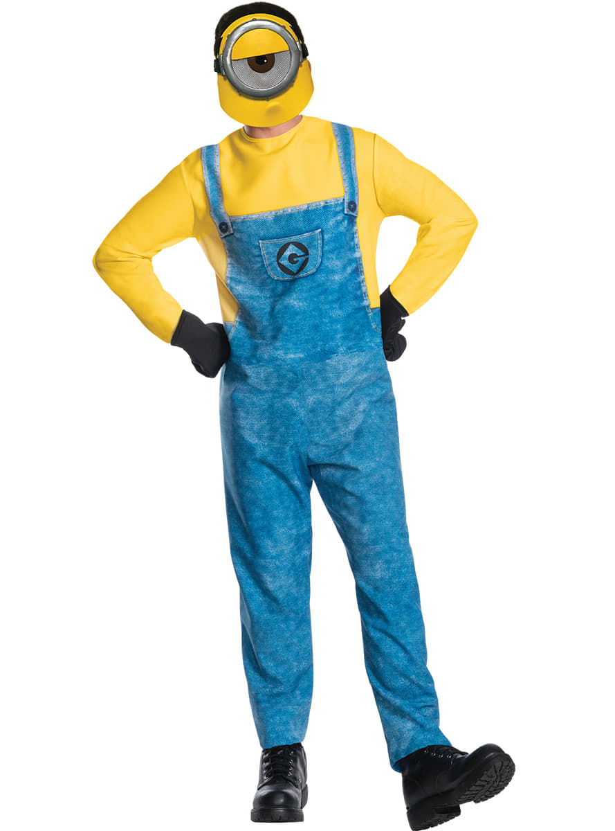 minions mel costume for adults  fast delivery