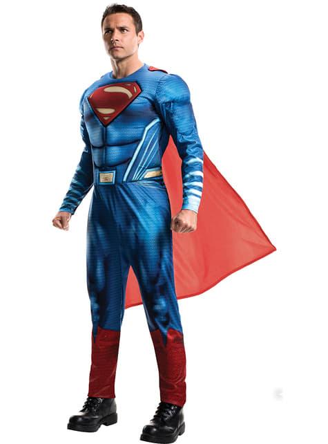 Disfraz de Superman La Liga de la Justicia para adulto