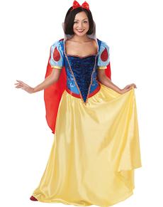 Kostium Królewna Śnieżka damski