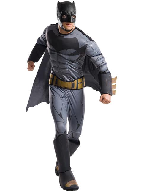 Disfraz de Batman La Liga de la Justicia deluxe para hombre