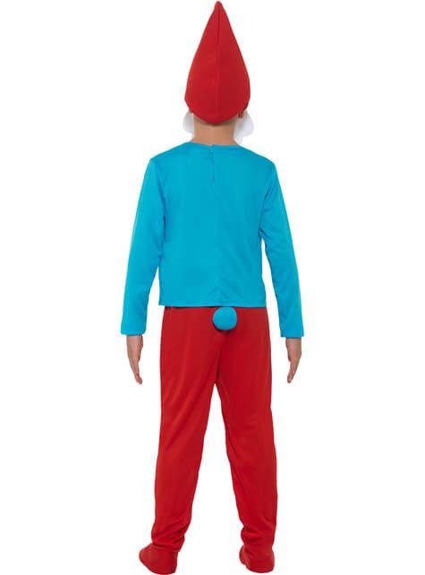 Fato de Grande Smurf para menino