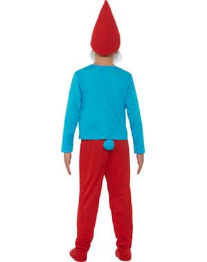 孩子爸爸蓝精灵服装