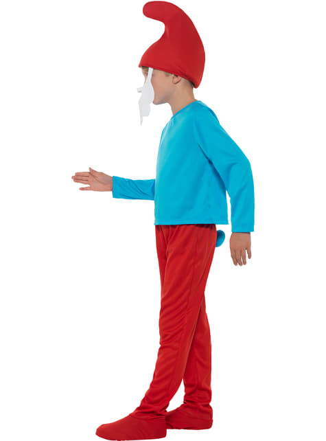 Costum Papa Ștumpf pentru băiat