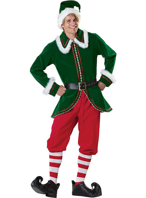 Fato de elfo Deluxe