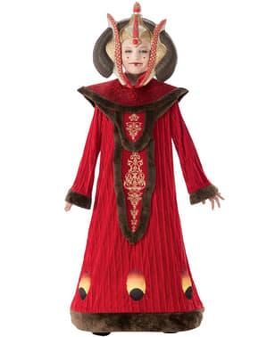 Dívčí luxusní kostým královny padme Amidaly