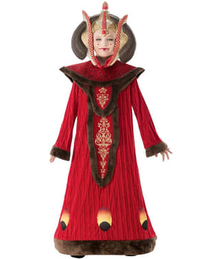 Luxe' koningin' Padme Amidala costuum voor meisjes