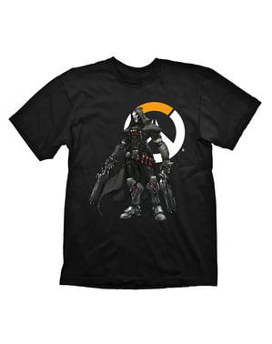 לוגו Reaper Overwatch חולצת טריקו למבוגר
