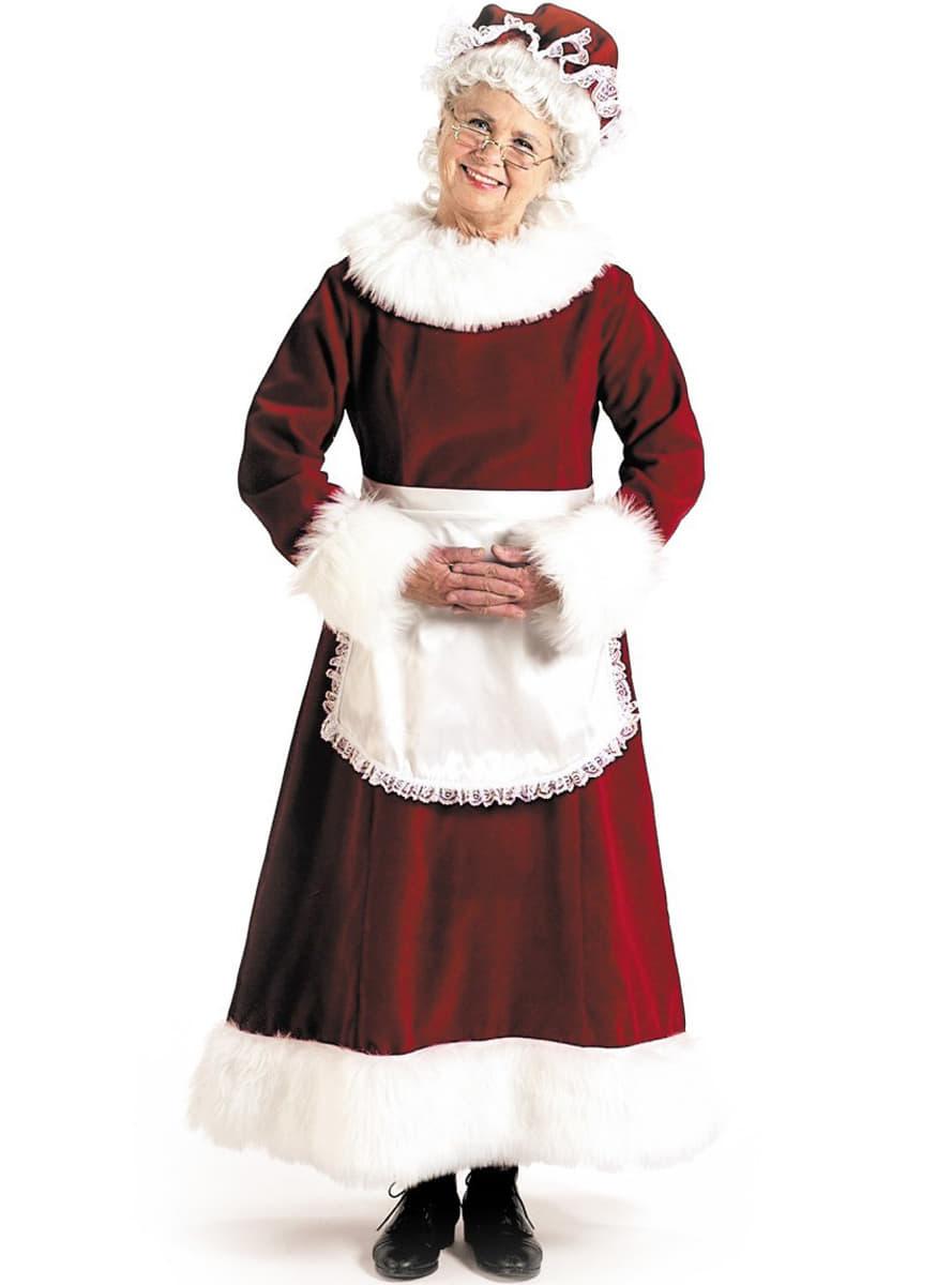 Mother Christmas.Grandma Mother Christmas Costume