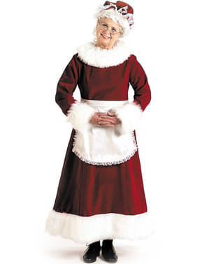 Costume Mamma Natale professionale velluto