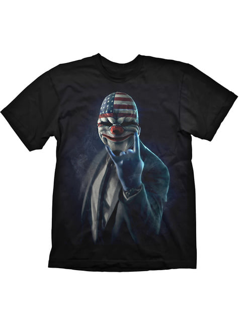 Payday 2 Rock on T-shirt for adult