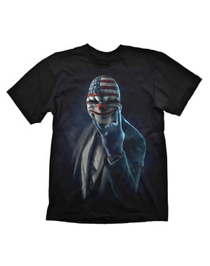 Payday 2 רוק על חולצת טריקו למבוגר