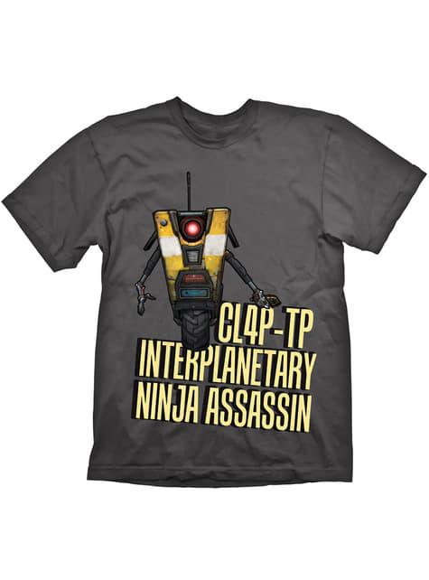 T-shirt de Borderlands Claptrap Assassin para adulto