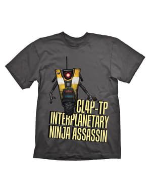 Aikuisten Borderlands Claptrap Assassin t-paita